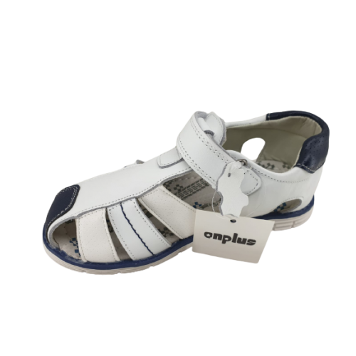 Bērnu  ādas sandales meitenēm